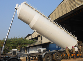 Hydraulic Powder Tank